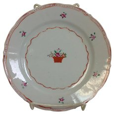 """Chinese Export Plate 8"""""""
