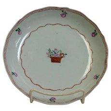 Chinese Export Soup Bowl Circa 1800