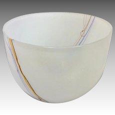 Kosta Boda Glass Bowl Handmade by Bertil Vallien