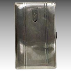 Presentation Cigarette Case From Ballet Russe Orchestra 1935