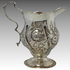 English Sterling Creamer 18th Century