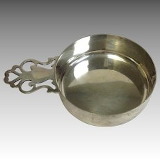 Sterling Silver Tiffany & Co Porringer with Open Work Handle
