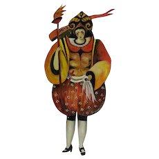 Cernetti Aries Painted Tin Figure 1993