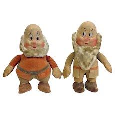 Pair Snow White Dwarfs R.G. Krueger