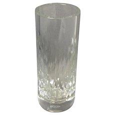 "Baccarat Paris Clear Crystal Vase 7 7/8"""