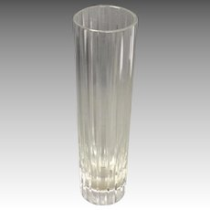 Baccarat Bud Vase Harmonie Pattern