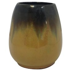 Fulper Small Pottery Vase Tiger Eye