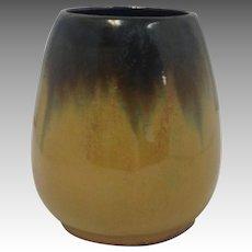 Fulper Small Pottery Vase Tiger Eye