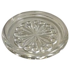 Baccarat  Rosace Wine Coaster 5""