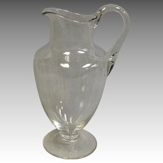Baccarat Crystal Montaigne Pitcher 9 1/2""