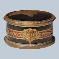 Japanese Lacquer Signed French Bronze Box 19th Century