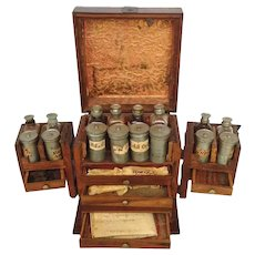 Portable Dutch Apothecary 18th Century