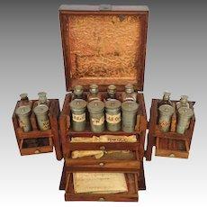 Portable Dutch Apothecary 18th Century