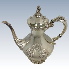 Reed and Barton King Francis Coffee Pot #1650