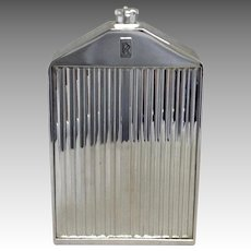 Rolls Royce Chrome Radiator Flask