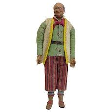 Neapolitan Creche Figure Man 18th Century
