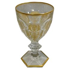 Baccarat Empire Tall Water Goblet 6 3/8""