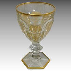 """Baccarat Empire Tall Water Goblet 6 3/8"""""""