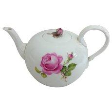 Meissen Rose Teapot