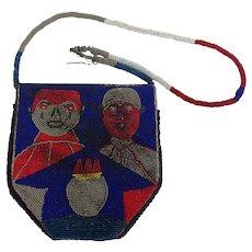 Yoruba Diviner Beaded African Bag