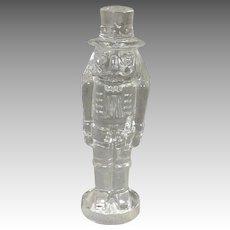 Waterford Clear Crystal Nutcracker in Original Box