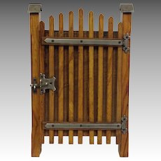 French Gate Frame Olive Wood by Cauterets