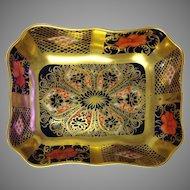 Old Imari Pin Dish Royal Crown Derby #1128