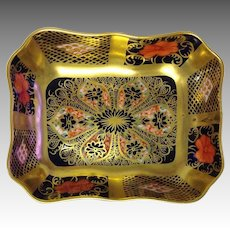 Old Imari Pin Dish Royal Crown Derby #1128