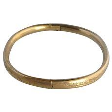 Child's Bangle Gold Filled Bracelet