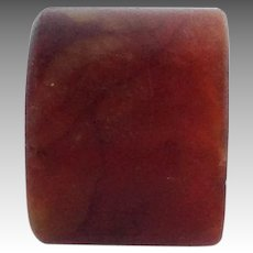 Chinese Nephrite Jade Archer's Ring