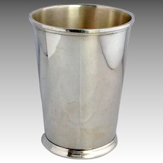 """Sterling Mint Julep 4 1/2"""" Fisher 5.9 Ounces"""