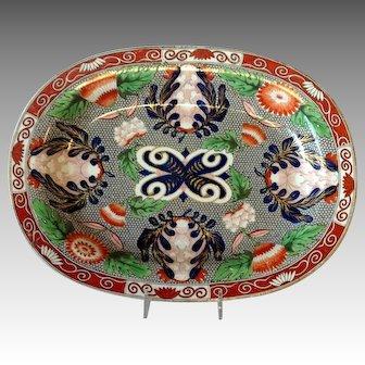 "Wedgwood Pearlware Crysanthemum Platter Restored 12"""