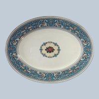 Wedgwood Florentine Turquoise Oval Platter