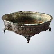 Antique Chinese Bronze Planter Signed