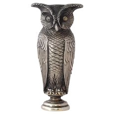Owl Seal 'Right is Might' 19th c.