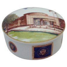 President George Bush Senior Library Box by Tiffany & Co.