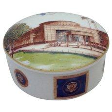 President George Bush Senior Library Box by Tiffany & Co.