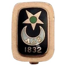 Alpha Delta Phi Pin California 1920
