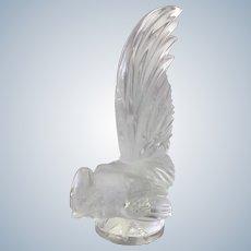 Lalique Le Coq Nain Cockerel Glass Figurine