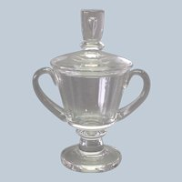 Steuben Crystal Covered Trophy Urn by David Hills
