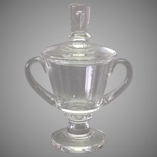 Steuben Crystal Covered Trophy Urn by David Hills