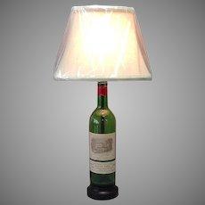 Chateau Lafite-Rothschild 1975  Bottle Lamp