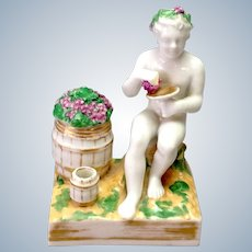 Bacchus Inkwell Continental 18th c