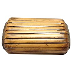 Japanese Bamboo Pillow Vintage