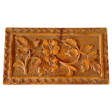 Antique French Carved Box
