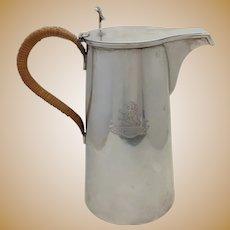 "Gorham Sterling 8"" Coffee Pot Grace of Kilkenny Family 1930's"