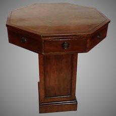 """Rent Table Mahogany 26"""" England 1820's"""
