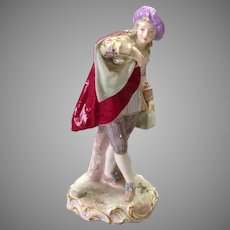 Samsom Gentleman Figurine 19th Century