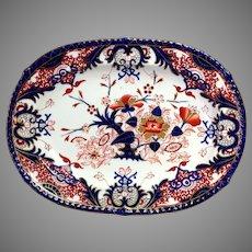 """Derby Imari Platter Pattern 563 Large 14"""""""