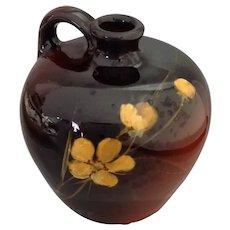 Small Louwelsa Weller Floral Jug